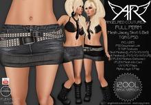 AngelRED - FULL PERM Mesh Jacey Skirt & Belt [BASIC VERSION]