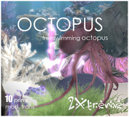 :: 2Xtreme :: freeswimming octopus trans