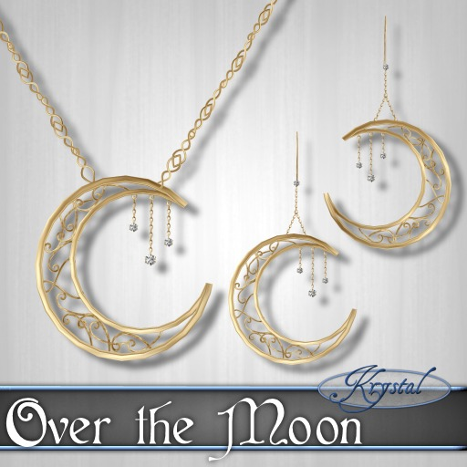 ::: Krystal ::: Over the Moon - Gold