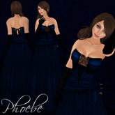 [K~*~S] Phoebe - Gown - Sapphire