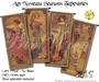 Art Noveau Seasons Tapestries - SET OF FOUR!
