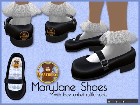 20+ Mary Janes Ruffled Socks JPG