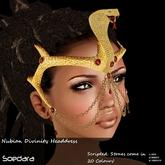 ~Soedara~ Nubian Divinity Snake Headdress