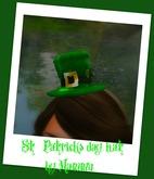 St.Patricks day hat_girls