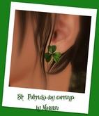 St.Patricks day earrings