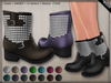 DN Mesh: Studded Boots - UNISEX w HUD