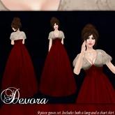 [K~*~S] Devora - Gown - Ruby