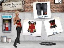 [nn] Mighty Nations - Female - UK