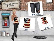[nn] Mighty Nations - Female - USA