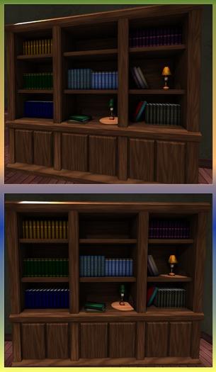 Book Shelf. Mesh.