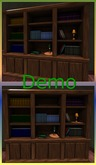 Book Shelf. Mesh. Demo
