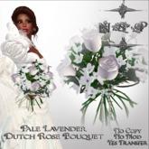 NSP Pale Lavender Dutch Rose Bouquet (boxed)