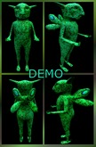 The Grass Gargoyle. Mesh. DEMO
