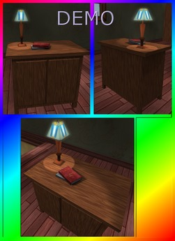Office Side Table. Mesh. DEMO
