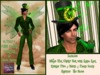 "St Patty's ""FINN FAIRY FOREVER"" wTop Hat + Green Smoke PIPE ~ Resizer"
