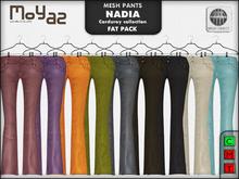 Nadia Mesh corduroy jeans pants - FATPACK 9 PANTS!!!