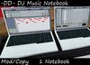 Club Equipment: DJ Notebook