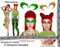 :: Miss canning ::  [Poison ivy mask]