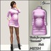 "Tunic for pregnant ""Samanta"" Mesh  from <Yanka>   Pink"