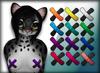 Viss Bandaid Pasties - Female - Black & Brights