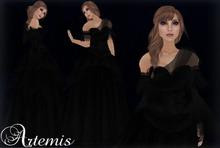 [K~*~S] Artemis - Gown - Obsidian