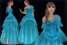 [K~*~S] Artemis - Gown - Nile Blue
