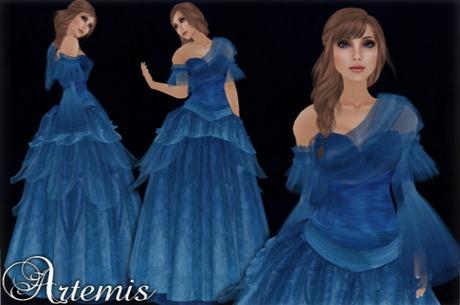 [K~*~S] Artemis - Gown - Euphrates Blue