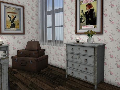 Dutchie mesh colorchange gustavian bedroom dresser