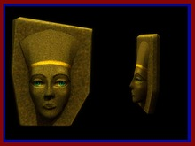 Pharaoh Head. Mesh