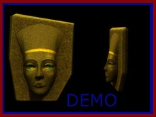 Pharaoh Head. Mesh. DEMO