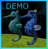 Sea Donkeys. Mesh. DEMO