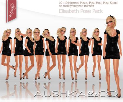AUSHKA&CO-Elisabeth Pose Pack+Mirrored*