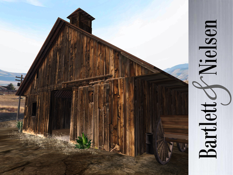 Second Life Marketplace - Old West Barn - horse barn