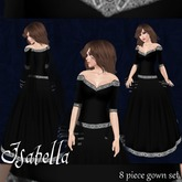 [K~*~S] Isabella - Gown - Onyx