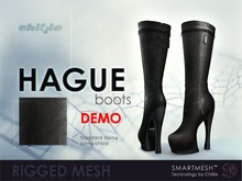 . chillie . HAGUE boots // DEMO (MESH)