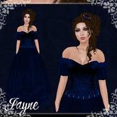 [K~*~S] Jayne - Gown - Sapphire