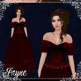 [K~*~S] Jayne - Gown - Ruby