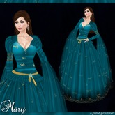 [K~*~S] Mary - Gown - Sapphire