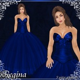 [K~*~S] Regina - Gown - Sapphire