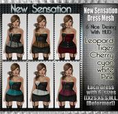 NS:: New Sensation Dress_Mesh with HUD