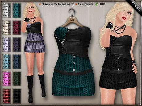 DN Mesh: Shelly Dress HUD