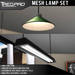 Tredpro Mesh Cone Light and Fluorescent Lamp Set