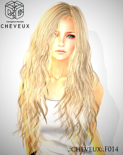 .:cheveux:.HairBlondscale F014
