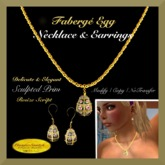 Faberge Egg Jewelry Set