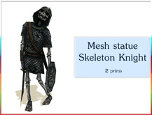 Mesh statue Skeleton Knight