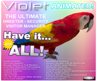 (COPYABLE) PARROT Bot ~ The Ultimate Greeter & Visitor Manager V2