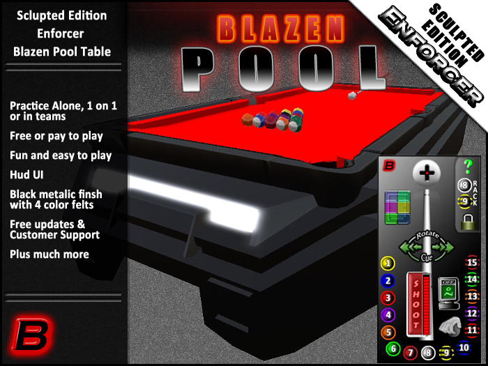 Enforcer (Playable Pool Table)