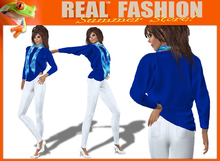 """""""REAL FASHION""""  """"Casual and chic"""" complete outfit DEMO - Mesh rigged"""