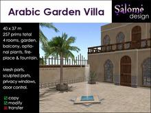 Arabic Garden Villa / Role Play Villa