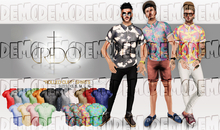 CREDO - 'Rolled Cuff' Shirts DEMO